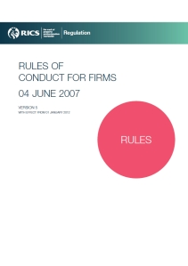 Rules for Firms V5