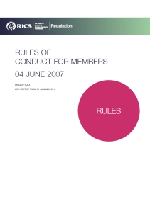 Rules for Members V4