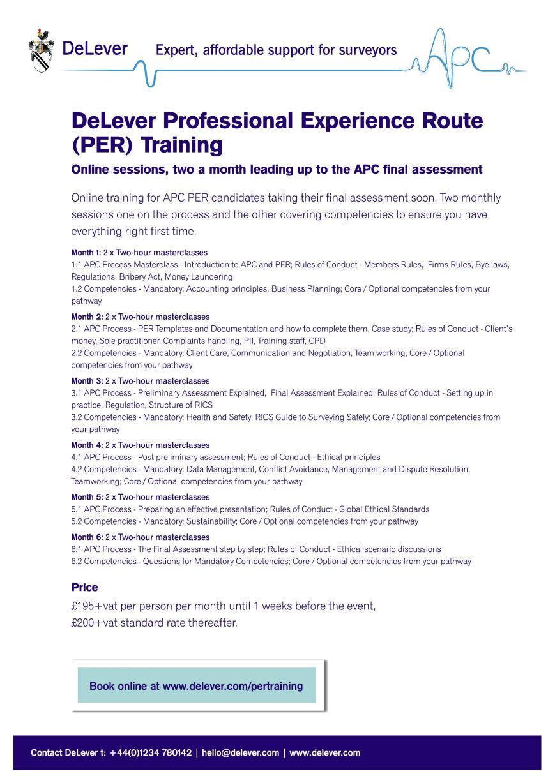 per training