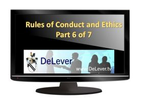 Rule of ethics part 6of7